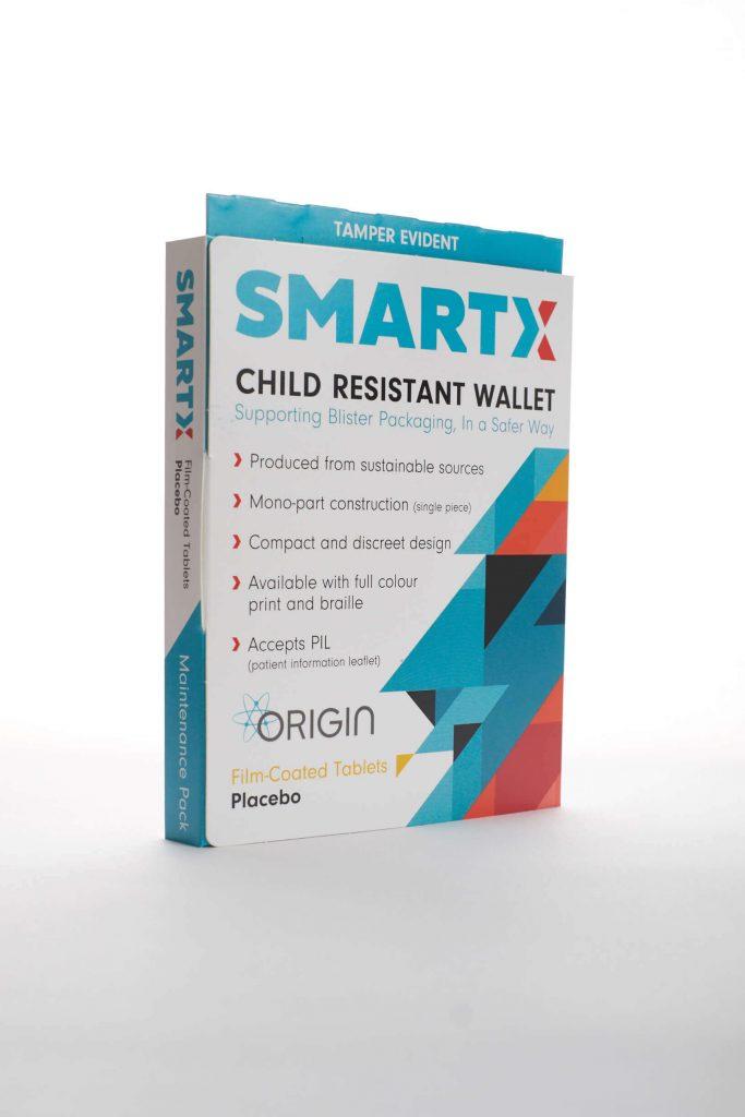 Smartx Child Resistant Blister Card Pill Box Origin